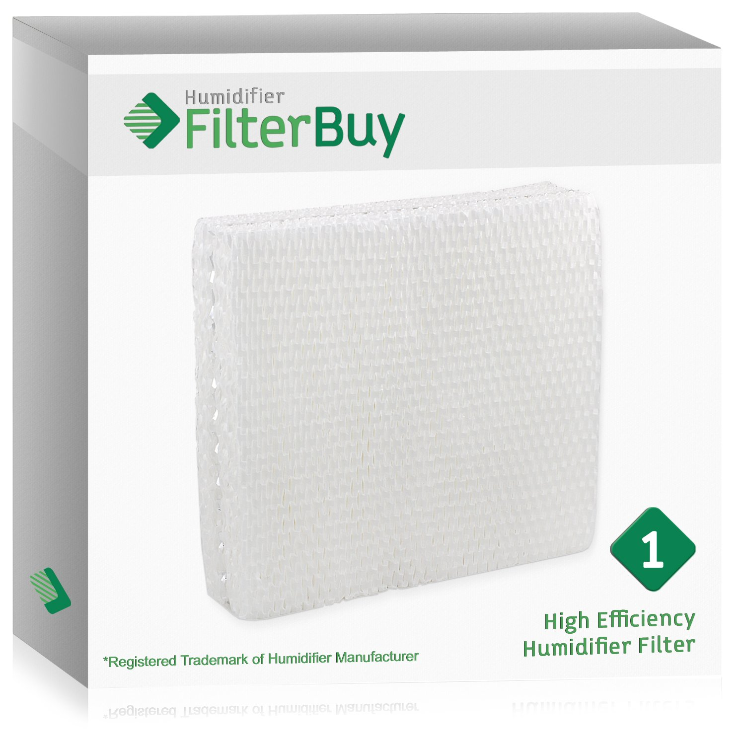 FilterBuy Replacement Humidifier Filter Compatible with Lasko THF15, Duracraft AC-809 & AC-815, Sears Kenmore 14809. Designed by in the USA. by FilterBuy (Image #1)