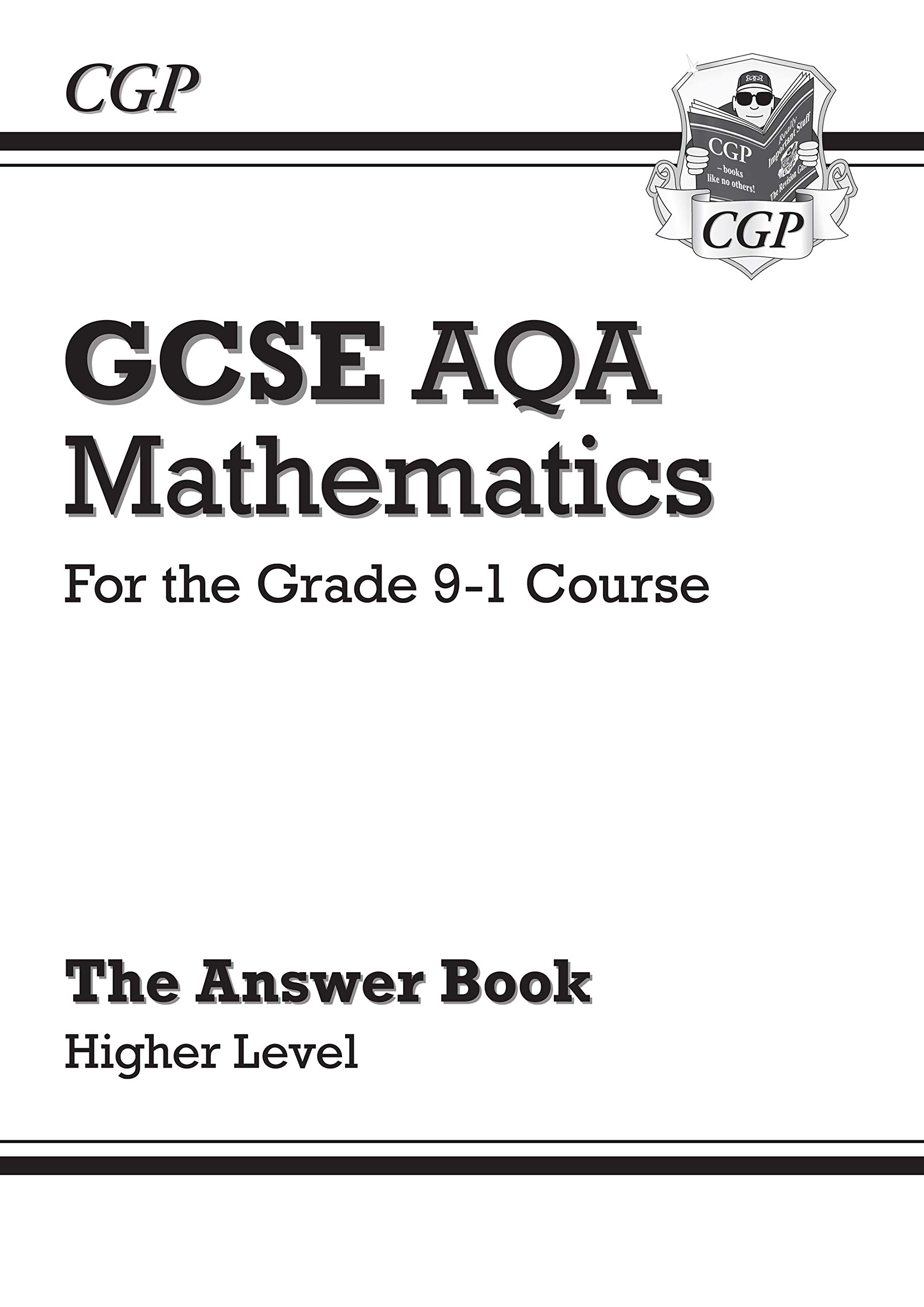 GCSE Maths AQA Answers for Workbook: Higher - for the Grade 9-1