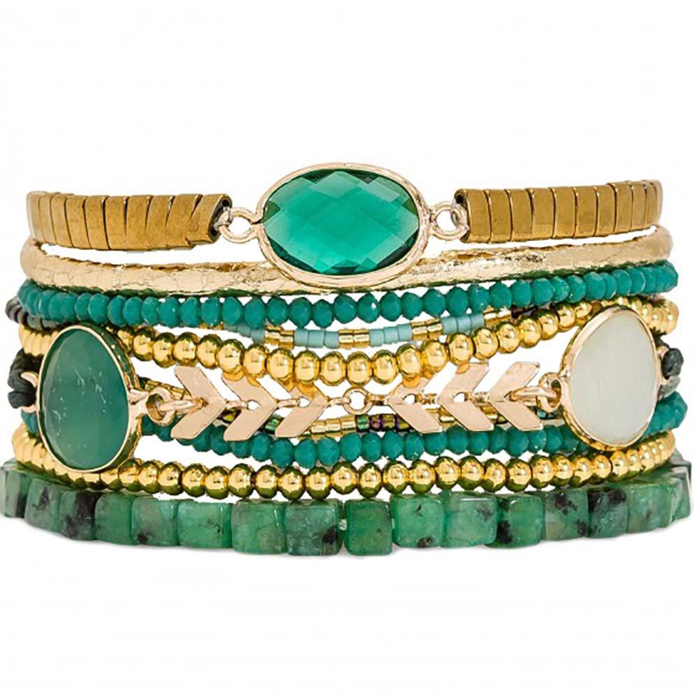HIPANEMA Narcisse Multi Strand Bracelet