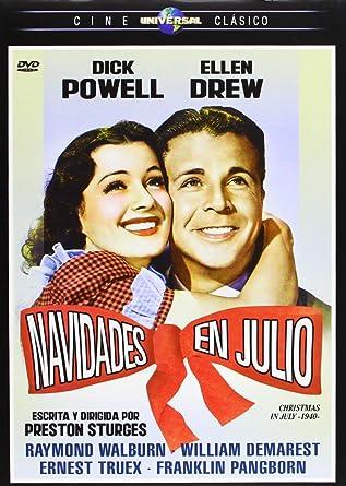 Christmas In July Movie.Amazon Com Navidades En Julio Christmas In July Movies Tv
