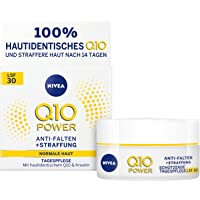 NIVEA Q10 Power Anti-rimpel plus verstevigende dagverzorging in 1 verpakking (1 x 50 ml), gezichtscrème met SPF 30…