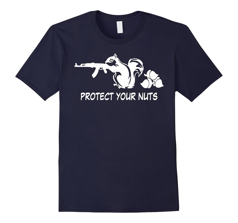 AK47 Rifle Squirrel Protect Your Nuts Gun AK-47 Funny Animal-TH