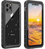 ANTSHARE iPhone 11 Pro Waterproof Case 2019 Full Body Protective IP68 Underwater Shockproof Dirtproof Sandproof…
