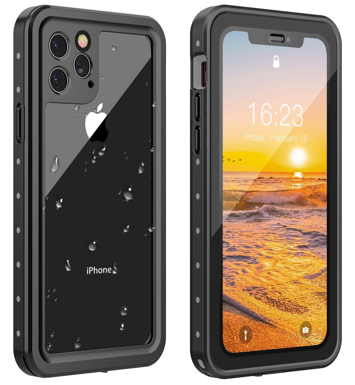 Funda Waterproof Para iPhone 11 Pro (5.8) (black/clear)