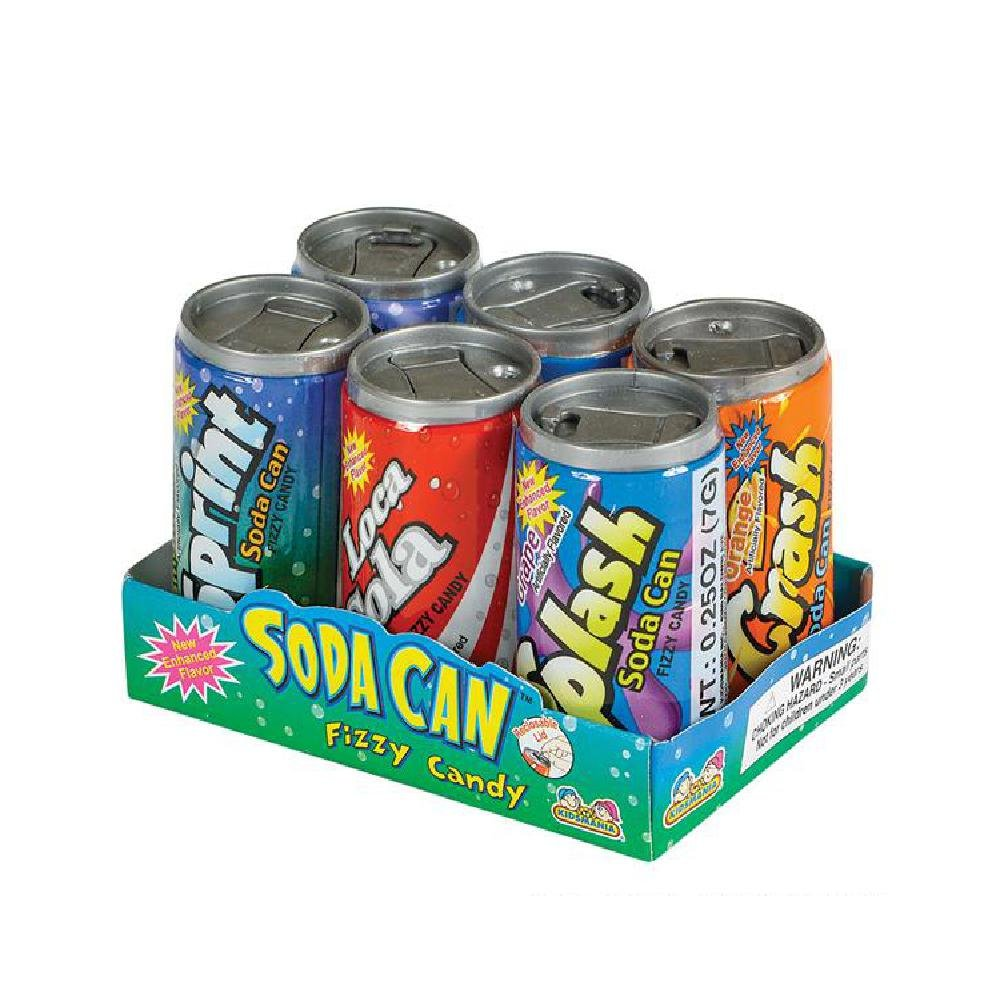 Soda Can Fizzy Candy by Bargain World