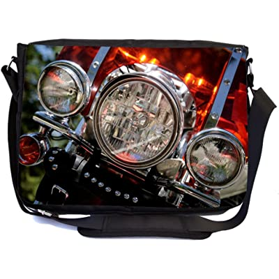 515e4ec4a9 good Rikki Knight Motorcycle Headlights Design Multifunctional Messenger Bag  - School Bag - Laptop Bag -