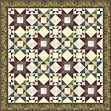 Timeless Treasures Tuscany Tonga Batiks Nobile Quilt Kit 74.5 by 74.5 Inches