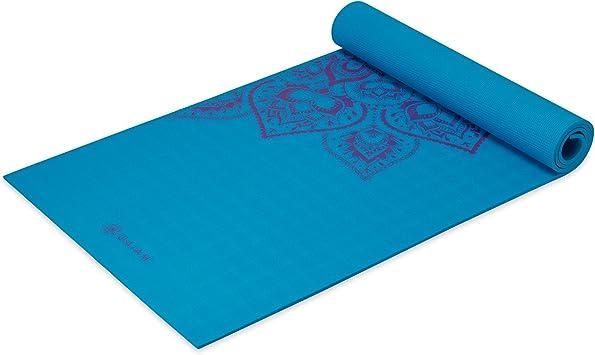 Gaiam Sol Sticky-Grip Yoga Mat (5mm)