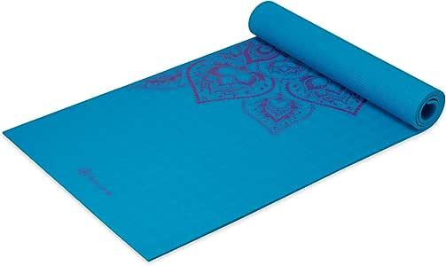 Amazon.com : Gaiam Sol Sticky-Grip Yoga Mat, Mandala, 5mm