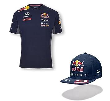 Infiniti Red Bull Racing - Camiseta y gorra de visera plana de equipo de F1 con