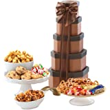 Broadway Basketeers Shiva Gift Tower of Sweets