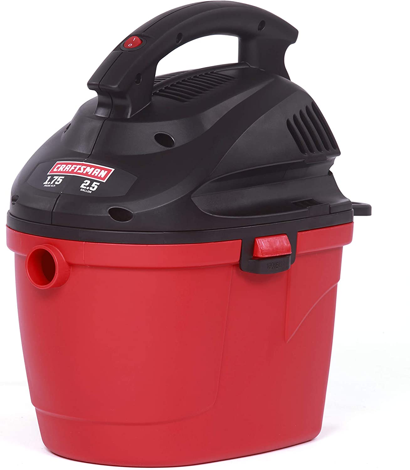 CRAFTSMAN 17611 2.5 Gallon 1.75 Peak HP Wet/Dry Vac, Portable Shop Vacuum with Attachments
