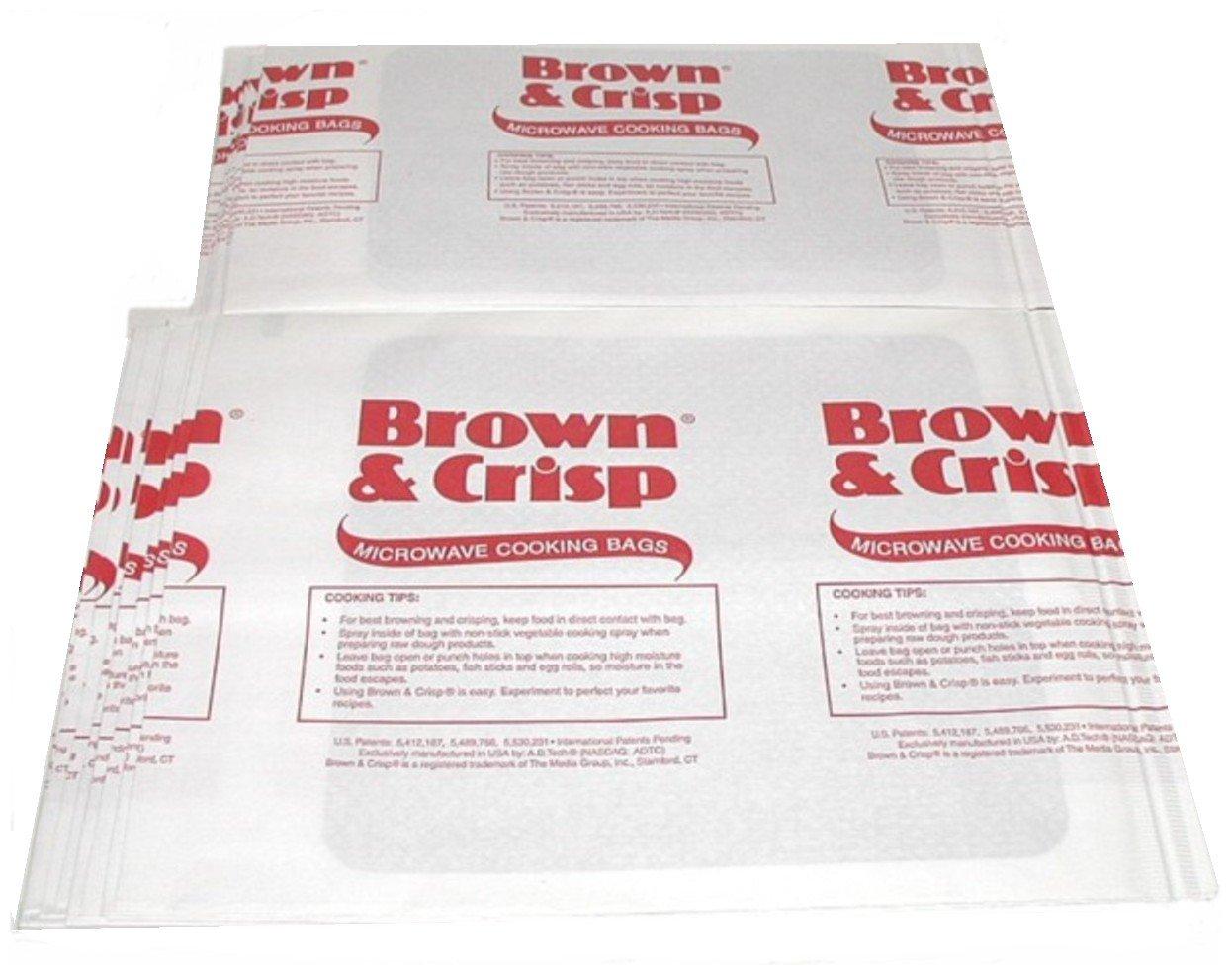 Pack de 30 microondas horno ~ marrón y Crisp ~ bolsas de cocina ...