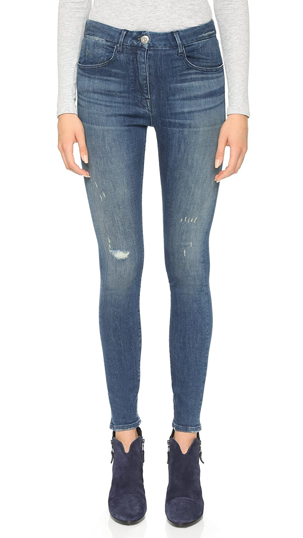 3x1 Women's High Rise Selvedge Skinny Jeans