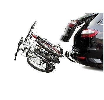 Portabicicletas Porta de 2 Bicicletas Electricas RECLINABLE con Luces Coche 3752