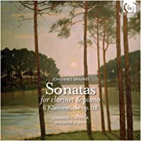 Brahms: Clarinet Sonatas, Klavierstucke Op.118