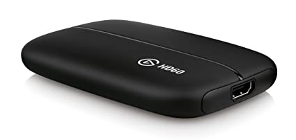 Elgato Game Capture HD60, for PlayStation 4, Xbox One and Xbox 360, or  Nintendo Switch gameplay, Full HD 1080p 60fps