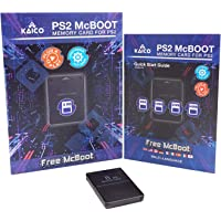 Kaico Free Mcboot 8MB PS2 Memory Card Running FMCB PS2 Mcboot 1.966 for Sony Playstation 2 - FMCB Free Mcboot Your PS2…