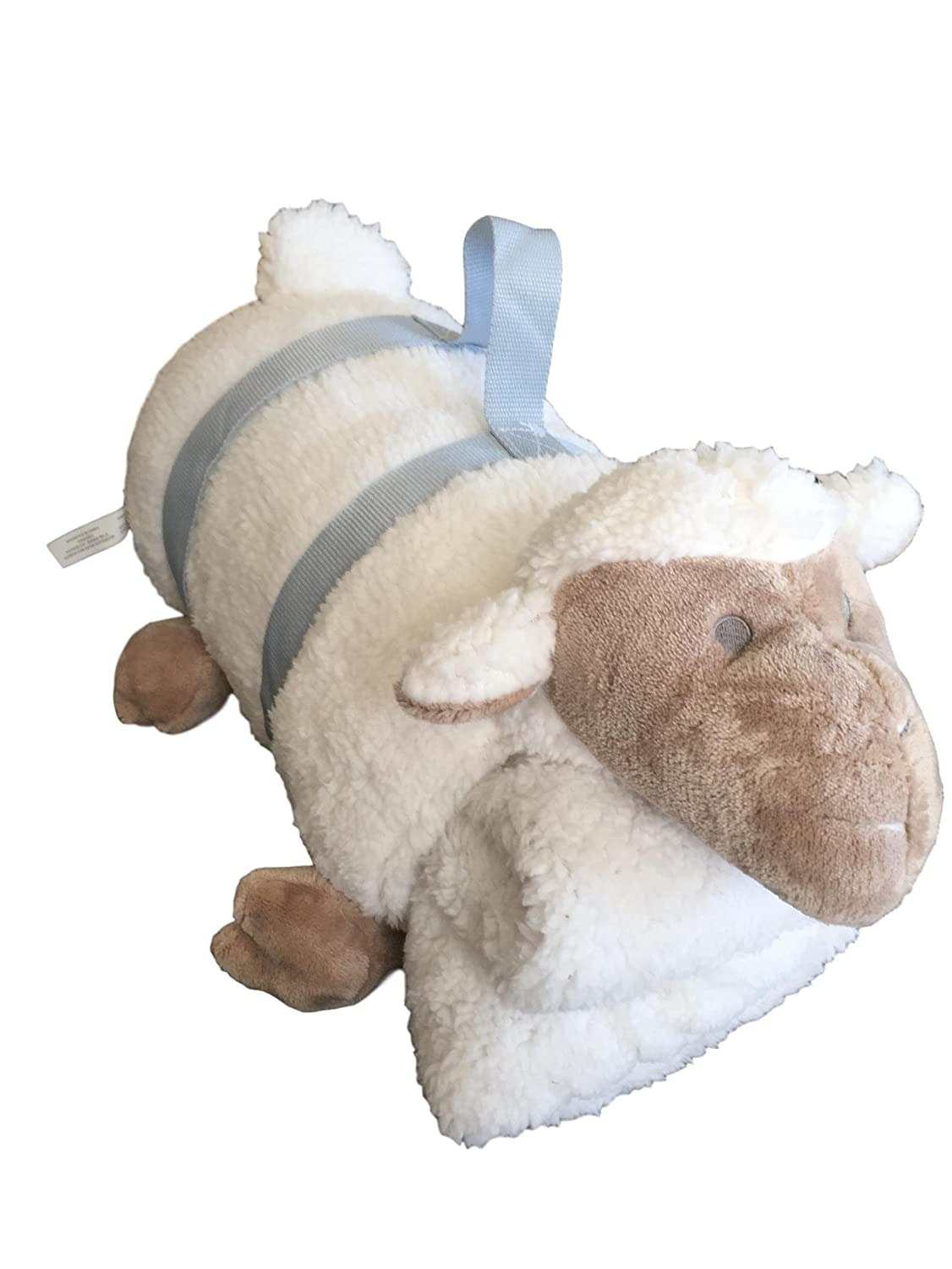 Cuddle Baby Friend Lamb and Reversible Blanket 2 Piece Set nim