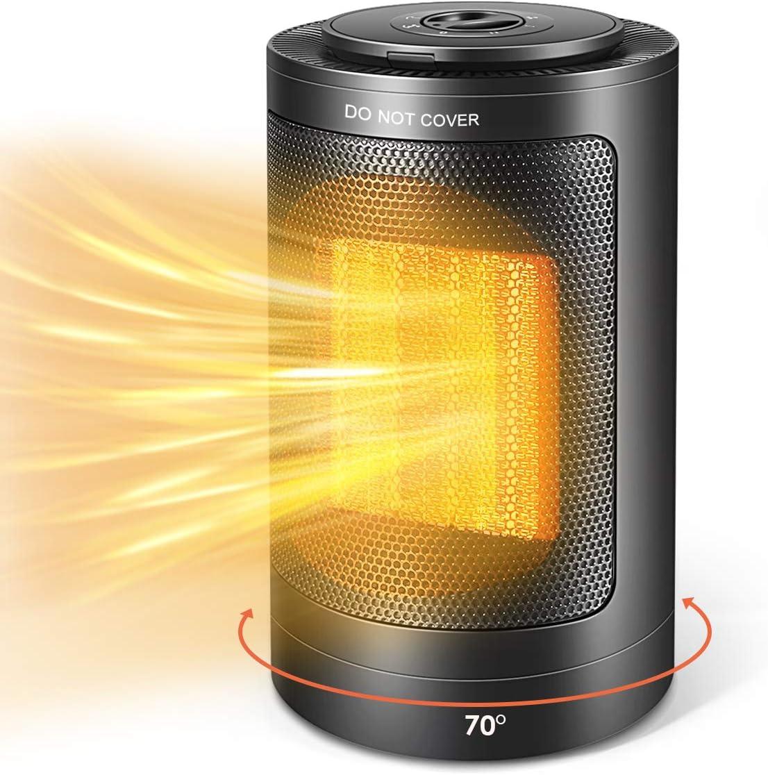 Electric Space Heater, 1500W PTC
