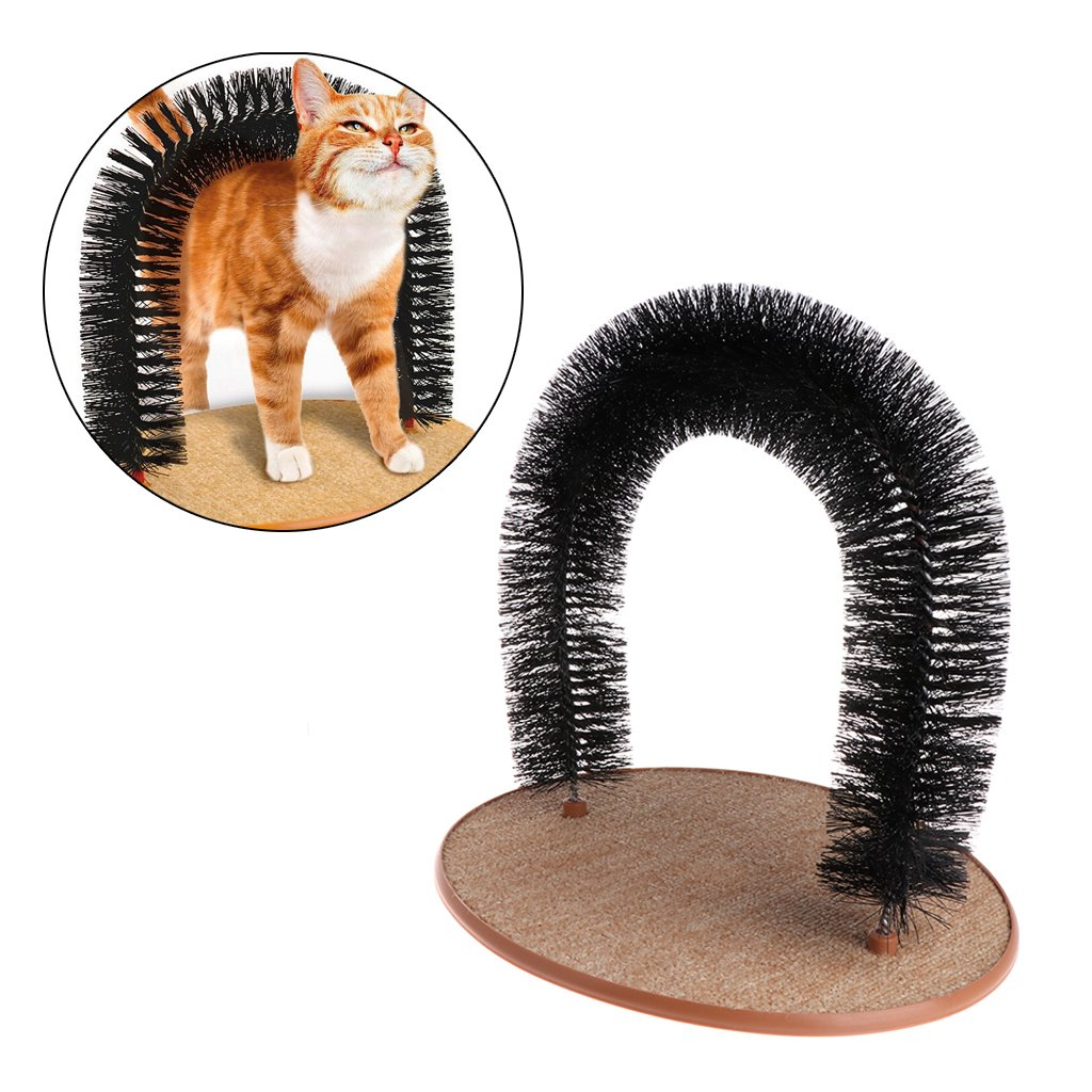 Stebcece Cat Grooming Arch