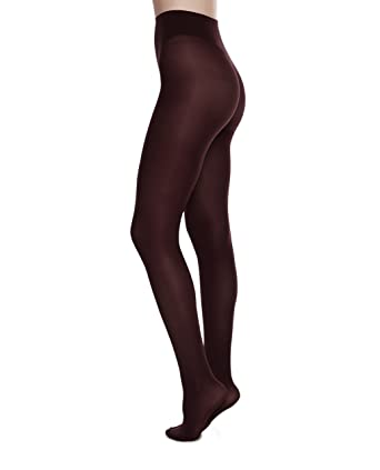 84ae08b95 Swedish Stockings Olivia Premium Luxury Pantyhose 60 Den Stockings  Semi-Opaque Knit Tights at Amazon Women s Clothing store