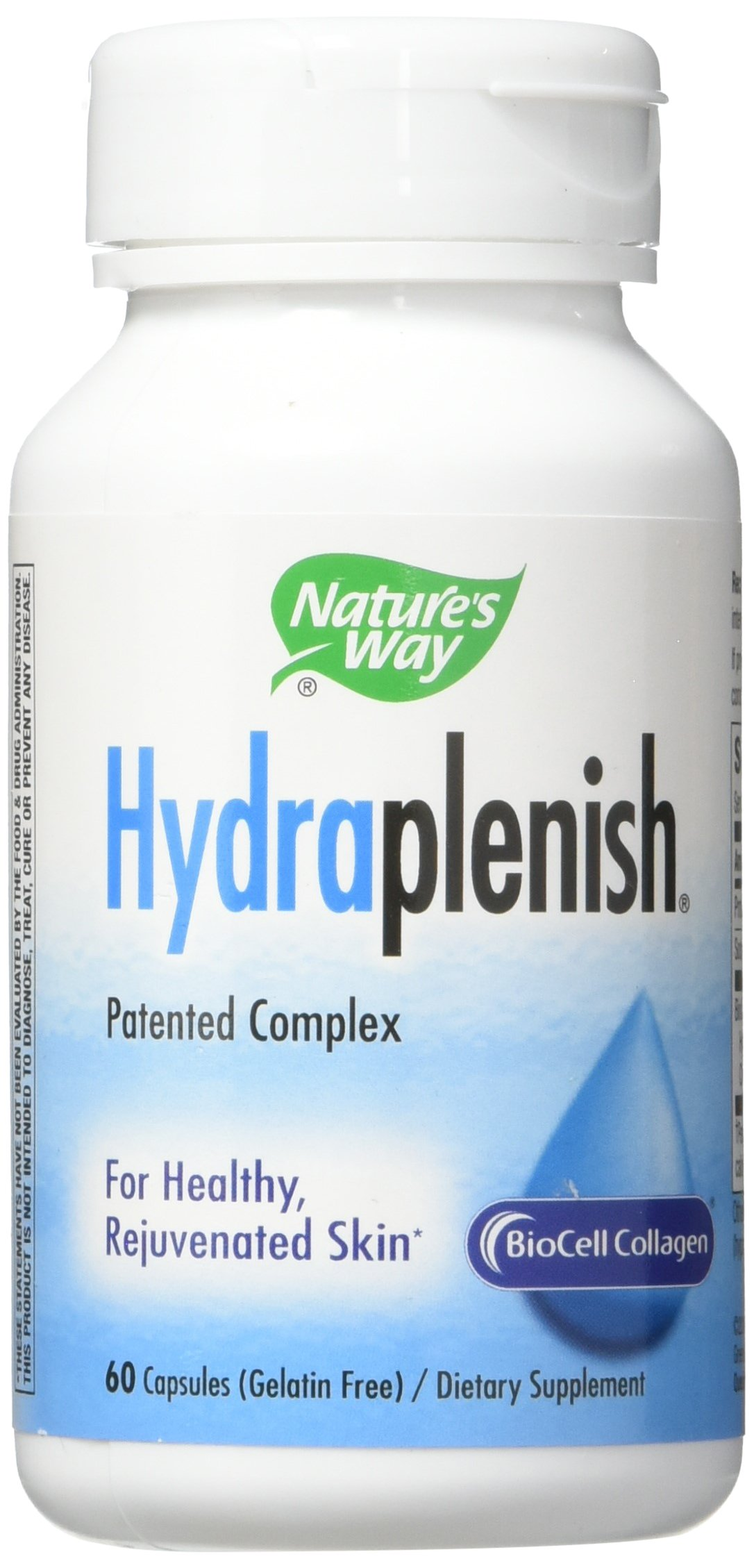 Nature's Way Hydraplenish - 60 Vcaps, (Pack of 4)
