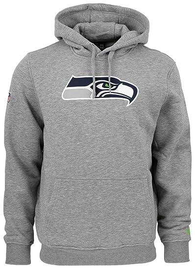 brand new 4378b 678b3 New Era - NFL Seattle Seahawks Team Logo Hoodie - Grey ...
