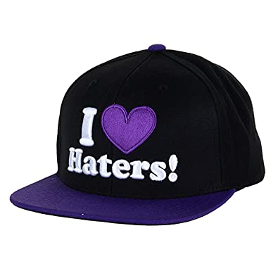 DGK Haters Snapback - Gorra, Color Negro y Morado: Amazon.es: Ropa ...