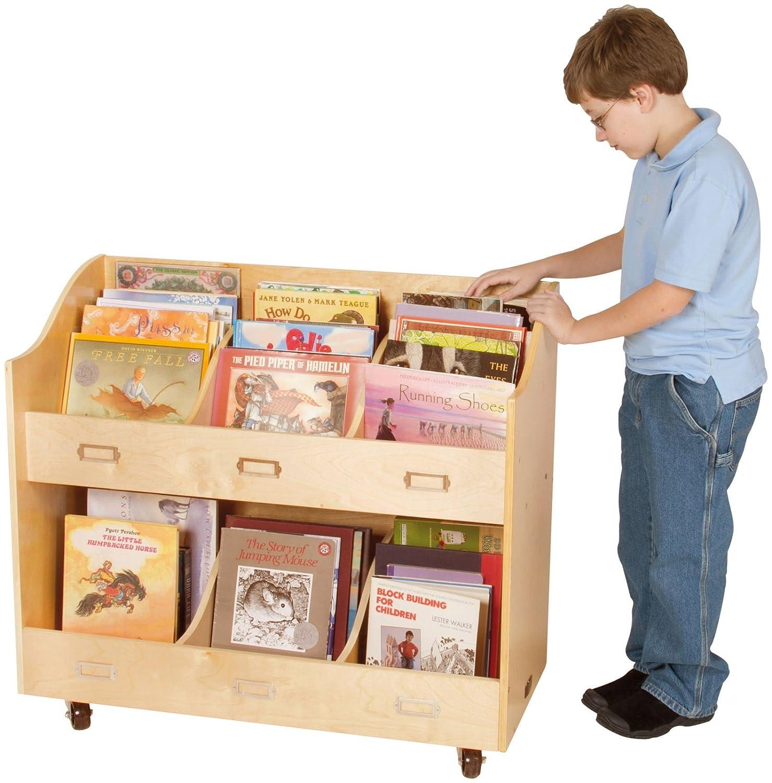 Guidecraft Mobile Book Organizer Set GDCG6470