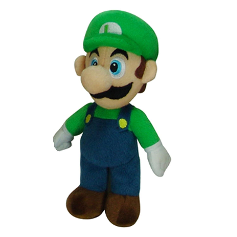 amazon com nintendo super mario luigi plush toys games
