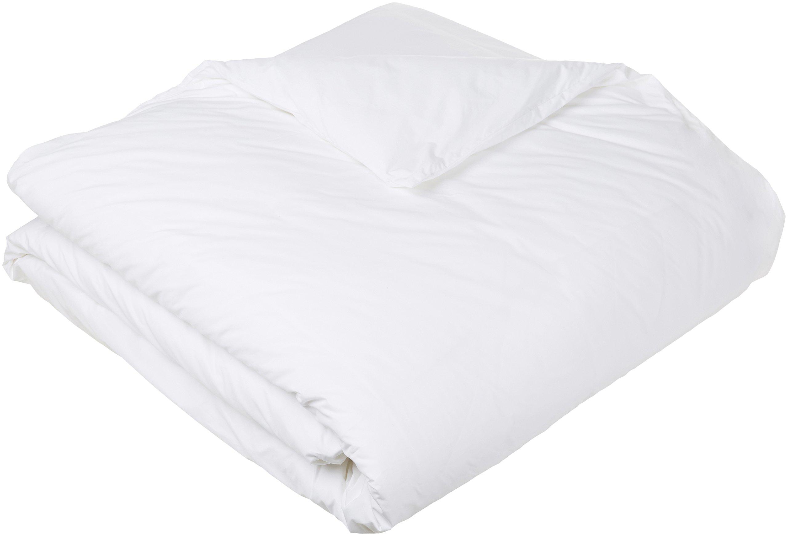 Pinzon Hypoallergenic Cotton Duvet Protector, Full/Queen by Pinzon by Amazon