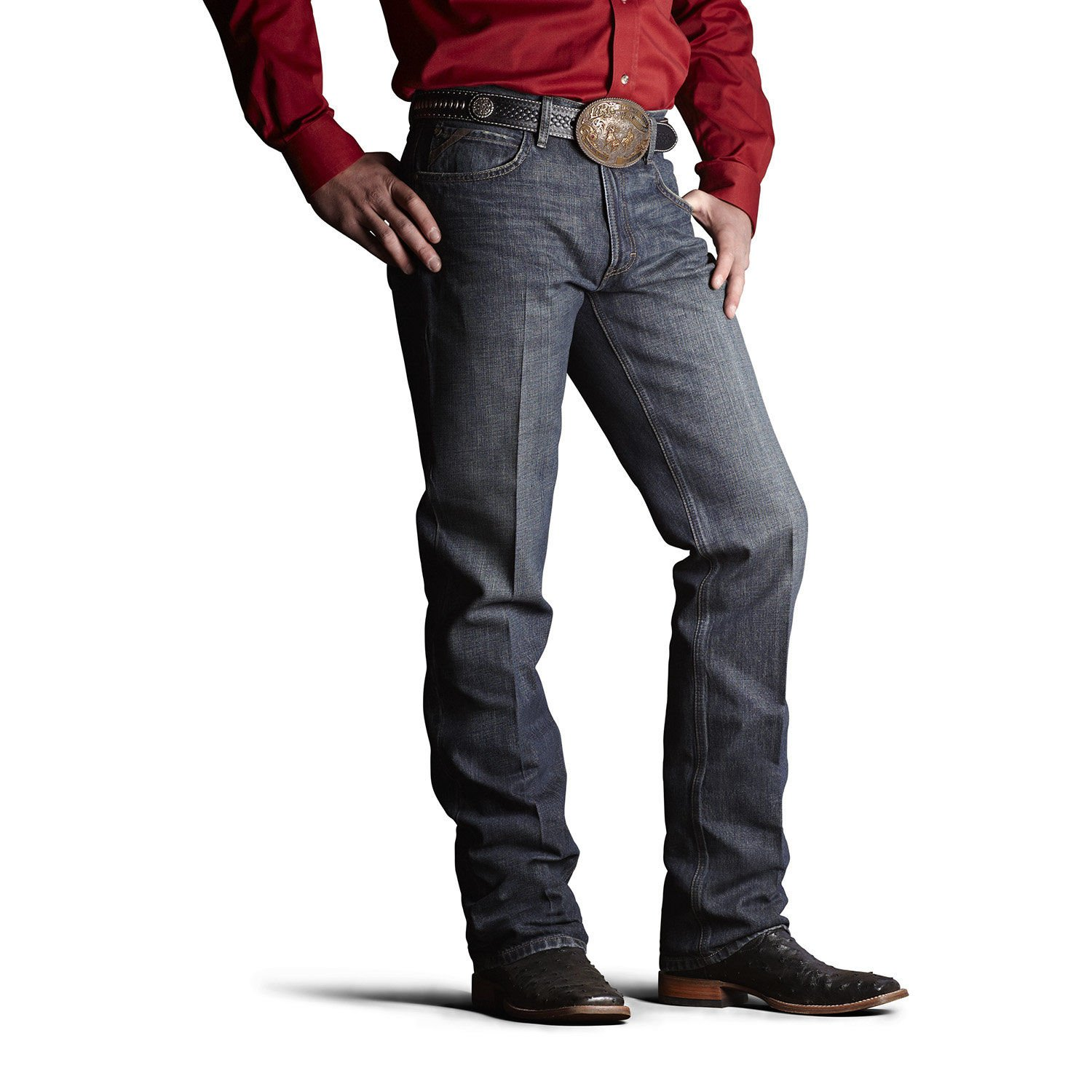 Ariat Men's M2 Relaxed Fit Jean, Swagger, 36x34