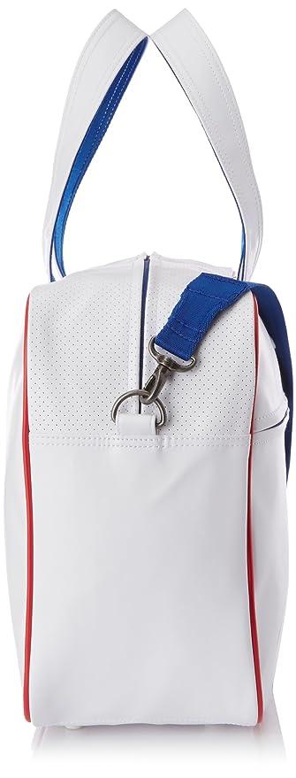 0eed6b6a6f adidas Perforated Holdall Bag - White True Blue Toro