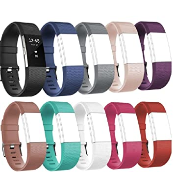 Tesco fitbit charge2 bandsreplacement silicone watchband style tesco fitbit charge2 bandsreplacement silicone watchband stylewireless activity tracker accessories silicon wrist solutioingenieria Image collections