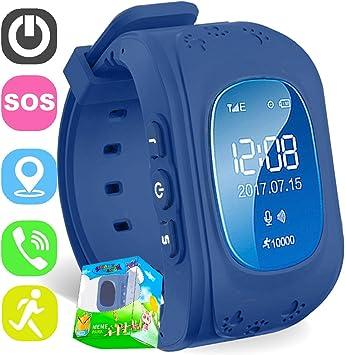 Reloj para Niños,TURNMEON® Kids Smartwatch GPS Tracker Localizador ...