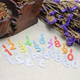 Cutting Dies Christmas, Number Birthday Candle