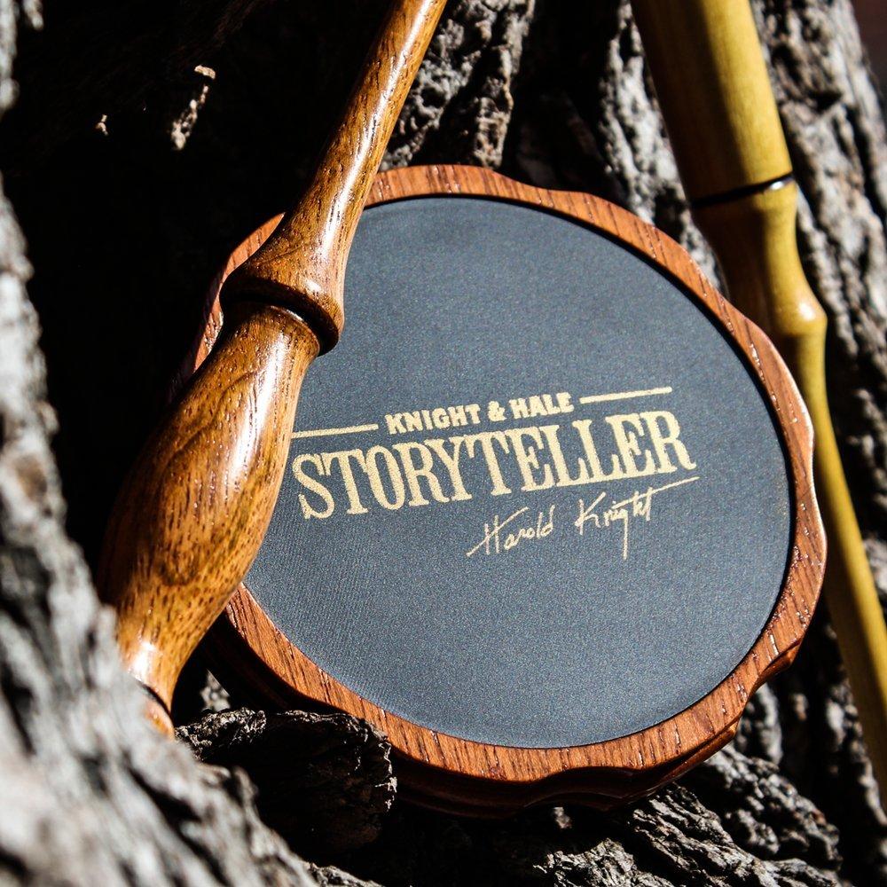 Knight & Hale Storyteller Premium Turkey Pot Call with Jabota and Yellow Heart Striker by Knight & Hale (Image #3)