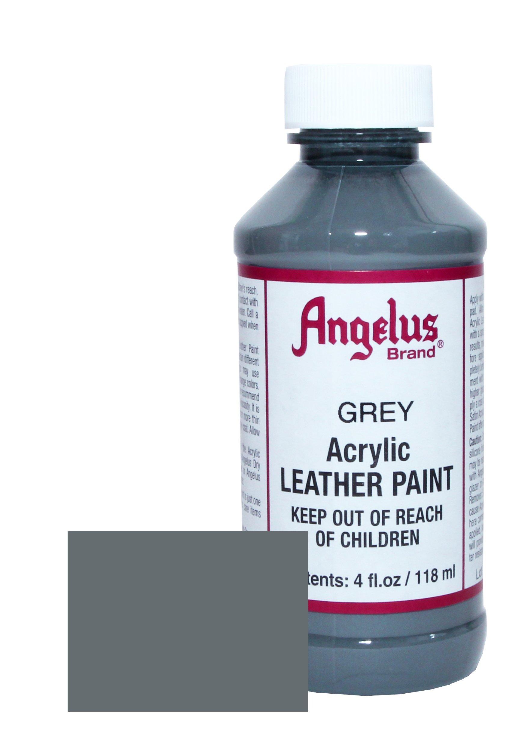 Angelus Pintura acrílica para cuero gris 118ml