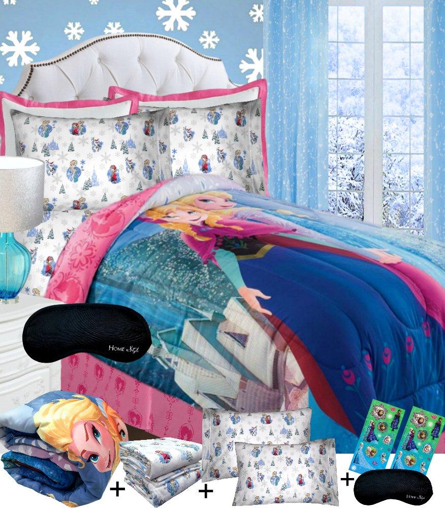 Home Style Disney Frozen Cotton Queen Bedding Superset Comforter