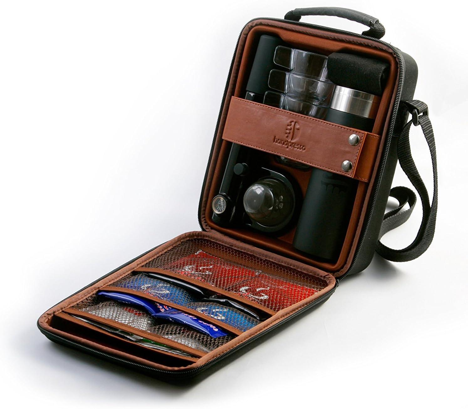 Handpresso 48206 - Cafetera de monodosis ESE (portátil, con termo y tazas): Amazon.es: Hogar