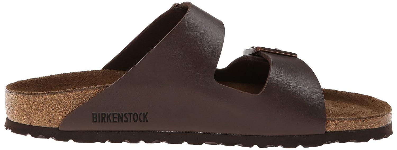Birkenstock Arizona Hard Footbed Birko-Flor Sandal B000I68EM2 37 M EU Dark Brown Birko-flor