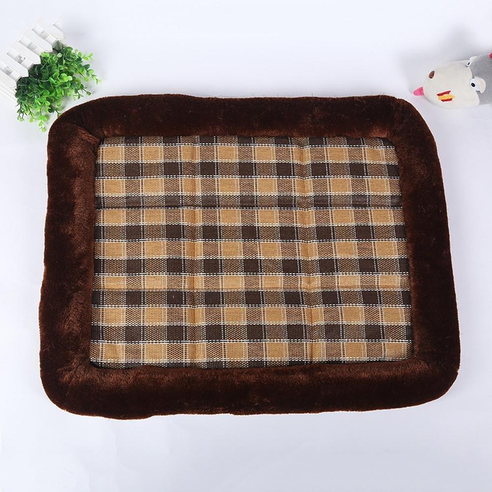 C 60485 C 60485 Kaxima Pet Bed for Three Pieces of pet Litter Cushion cat Dog mat Cushion Cool Comfort Summer Kennel Cat Kennel Mat Pet Supplies