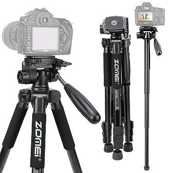 RONSHIN Accesorios para cámara Q222 Pro trípode portátil para ...