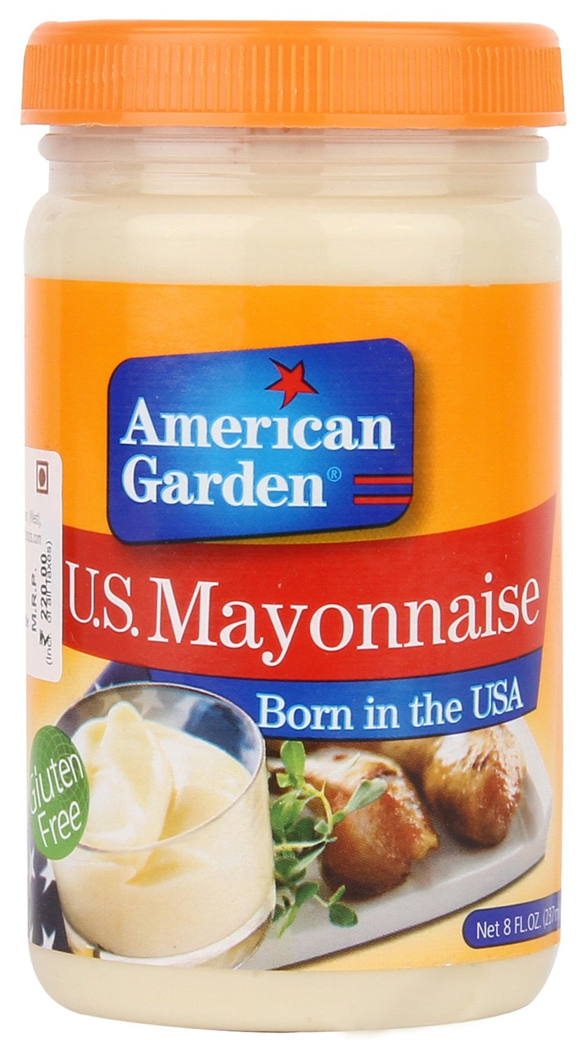 american garden u s mayonnaise 237ml amazon in grocery gourmet