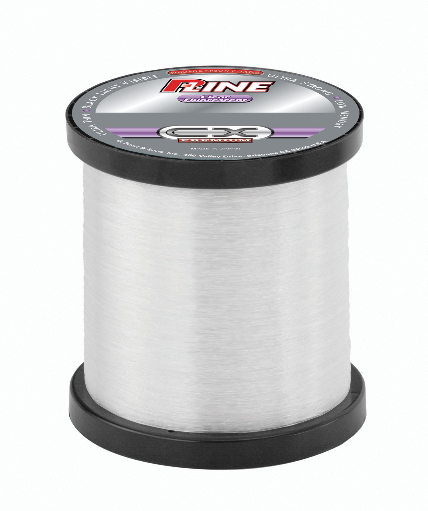 25 pound p line cx premium clear fluorescent fishing line for Fluorescent fishing line