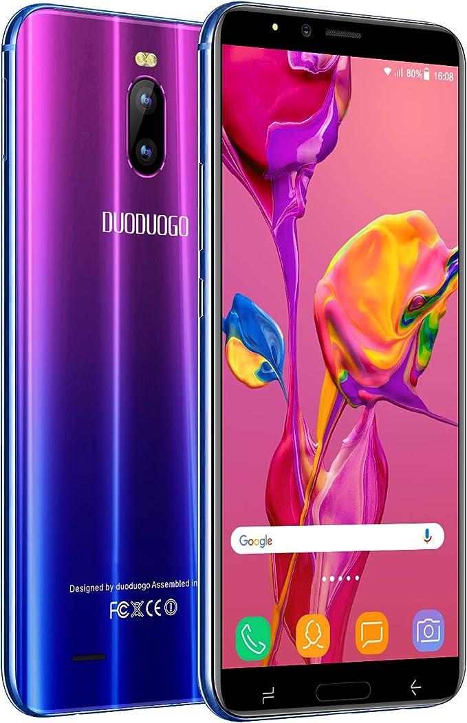 Moviles Libres 4G 6 Pulgadas,3GB+16GB/128GB ROM Android 8.1 ...