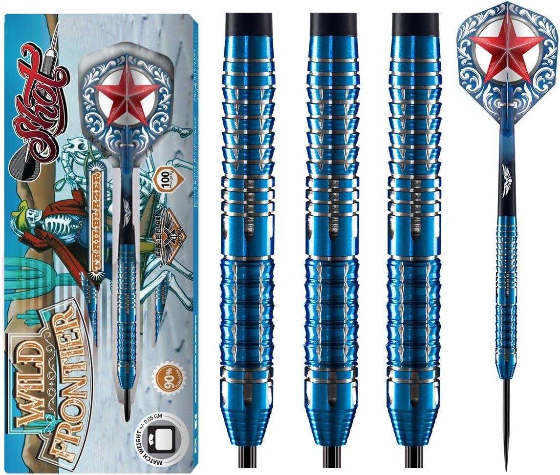 Shot Darts L-Style L3 Shape Wild Frontier Trailblazer Dart Flights