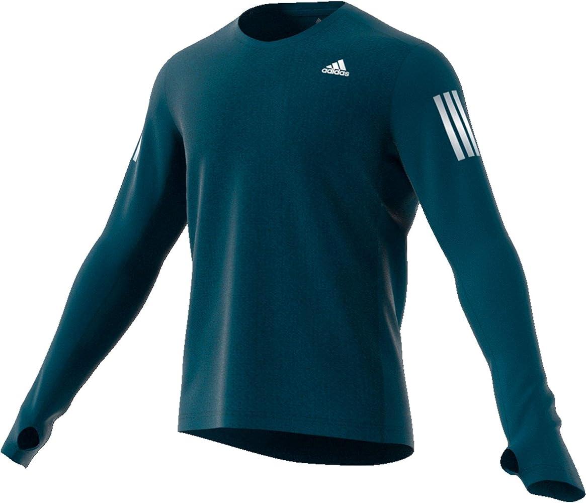 adidas Own The Run LS Camiseta de Manga Larga, Hombre, mintec, L: Amazon.es: Deportes y aire libre