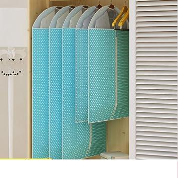 8f79e56b6ab2 Amazon.com: Clothing storage bag/hanging pockets/clothing dust cover ...